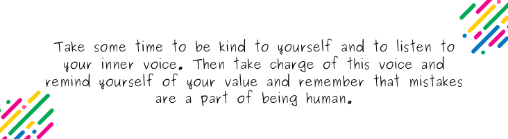 Quote about being kind to yourself