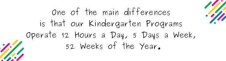 Kindergarten program blog quote