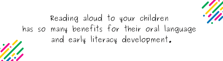 Reading Aloud to Children blog quote